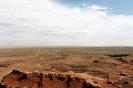 Flaming cliffs Gobi woestijn