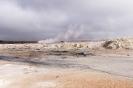 Hverur geothermische modderputten en stoomgaten